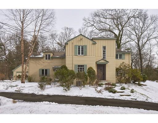 Частный односемейный дом для того Продажа на 120 Ridgeway Road 120 Ridgeway Road Weston, Массачусетс 02493 Соединенные Штаты