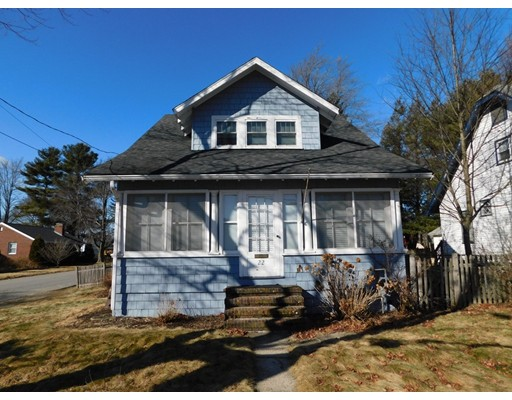 Single Family Home for Sale at 22 RICHWOOD STREET 22 RICHWOOD STREET Framingham, Massachusetts 01701 United States