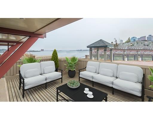 Condominio por un Alquiler en 40 Battery St #TH107 40 Battery St #TH107 Boston, Massachusetts 02109 Estados Unidos