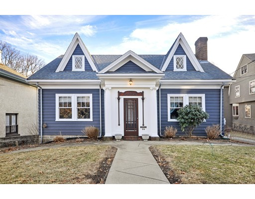 Single Family Home for Sale at 38 Brantwood Road 38 Brantwood Road Arlington, Massachusetts 02476 United States