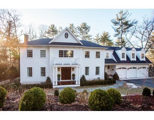 واحد منزل الأسرة للـ Sale في 17 Temple Road 17 Temple Road Wellesley, Massachusetts 02482 United States