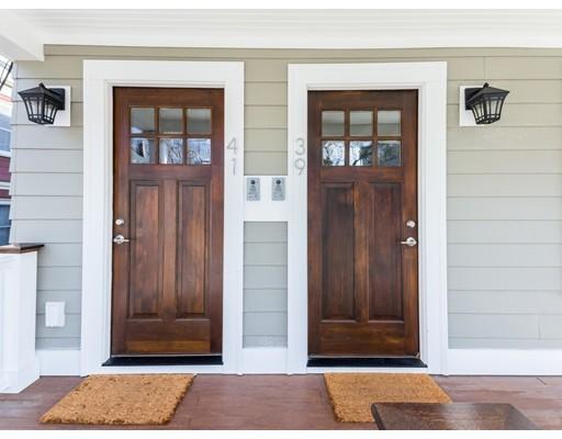 独户住宅 为 出租 在 39 Streetandish Street 坎布里奇, 02138 美国