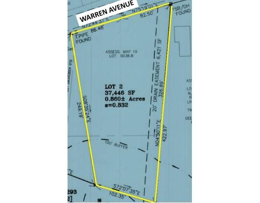 Land for Sale at 2 Warren Avenue 2 Warren Avenue Swansea, Massachusetts 02777 United States