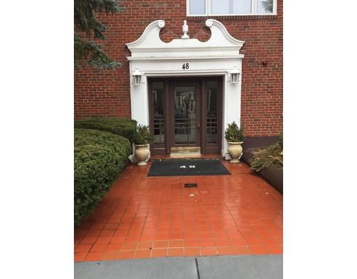 Appartement en copropriété pour l Vente à 48 Hollis Street 48 Hollis Street Newton, Massachusetts 02458 États-Unis