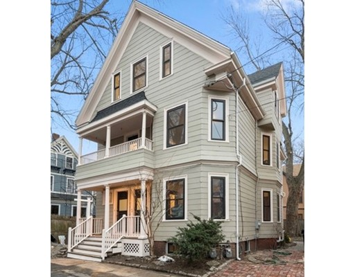 Condominium for Sale at 12 Sycamore Street 12 Sycamore Street Cambridge, Massachusetts 02140 United States