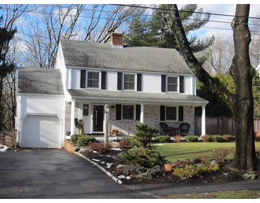 Single Family Home for Sale at 21 Madison Road 21 Madison Road Wellesley, Massachusetts 02481 United States