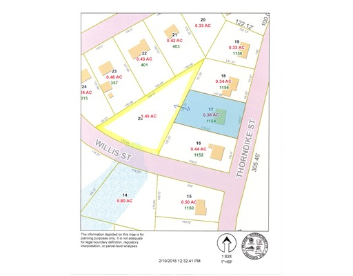 Land for Sale at 1154 Thorndike Street Palmer, Massachusetts 01069 United States