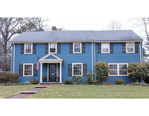 Single Family Home for Sale at 46 Leewood Road 46 Leewood Road Wellesley, Massachusetts 02482 United States