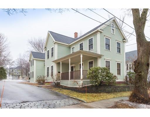Casa Unifamiliar por un Venta en 11 Walnut Street 11 Walnut Street Newburyport, Massachusetts 01950 Estados Unidos