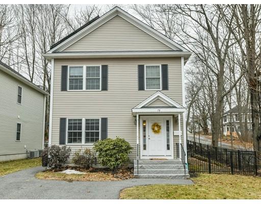 Частный односемейный дом для того Продажа на 78 Albemarle Road 78 Albemarle Road Waltham, Массачусетс 02452 Соединенные Штаты