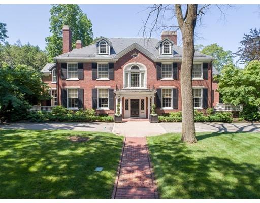 独户住宅 为 销售 在 65 Lenox Street 牛顿, 02465 美国