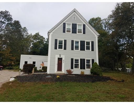 Maison unifamiliale pour l Vente à 833 Bedford Street 833 Bedford Street East Bridgewater, Massachusetts 02333 États-Unis