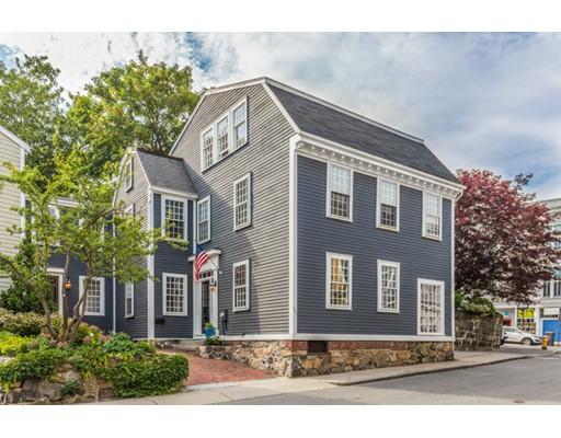 Single Family Home for Sale at 121 Washington Street 121 Washington Street Marblehead, Massachusetts 01945 United States