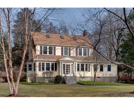 Single Family Home for Sale at 291 Glen Road 291 Glen Road Weston, Massachusetts 02493 United States