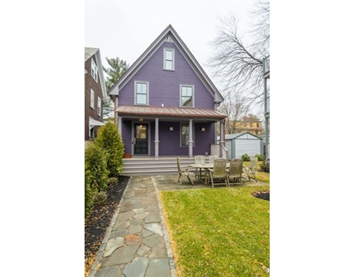 Single Family Home for Sale at 98 Hammond Street 98 Hammond Street Cambridge, Massachusetts 02138 United States