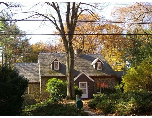 Частный односемейный дом для того Аренда на 54 Dean Road 54 Dean Road Weston, Массачусетс 02493 Соединенные Штаты