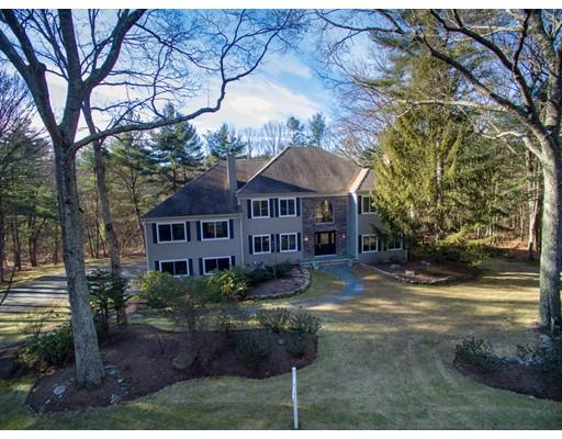 Частный односемейный дом для того Продажа на 25 Bridle Path 25 Bridle Path Sudbury, Массачусетс 01776 Соединенные Штаты