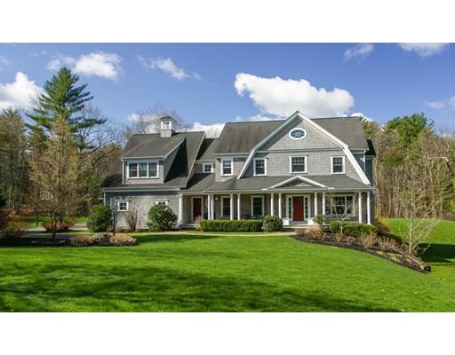 Частный односемейный дом для того Продажа на 51 Great Brook Path 51 Great Brook Path Carlisle, Массачусетс 01741 Соединенные Штаты