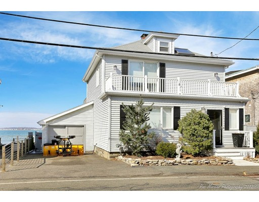 واحد منزل الأسرة للـ Sale في 119 Castle Road 119 Castle Road Nahant, Massachusetts 01908 United States