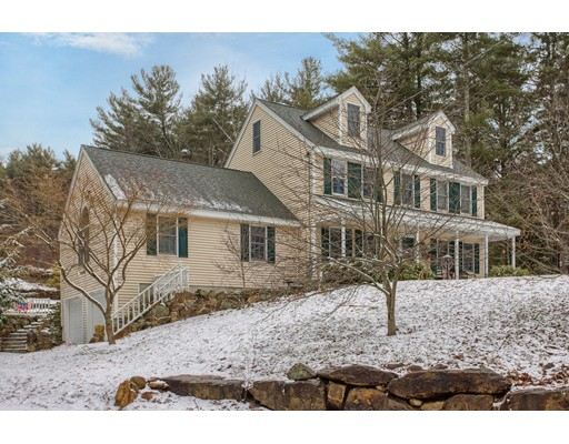 Single Family Home for Sale at 25 Mount Jefferson Road 25 Mount Jefferson Road Hubbardston, Massachusetts 01452 United States