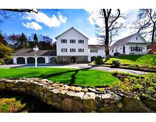 Maison unifamiliale pour l Vente à 107 Plympton Road 107 Plympton Road Sudbury, Massachusetts 01776 États-Unis