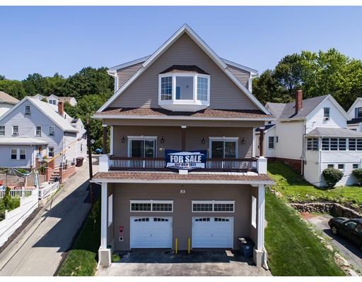 واحد منزل الأسرة للـ Sale في 12 Hillside Avenue 12 Hillside Avenue Revere, Massachusetts 02151 United States