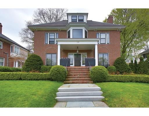 独户住宅 为 销售 在 119 Commonwealth Avenue 119 Commonwealth Avenue 牛顿, 马萨诸塞州 02467 美国