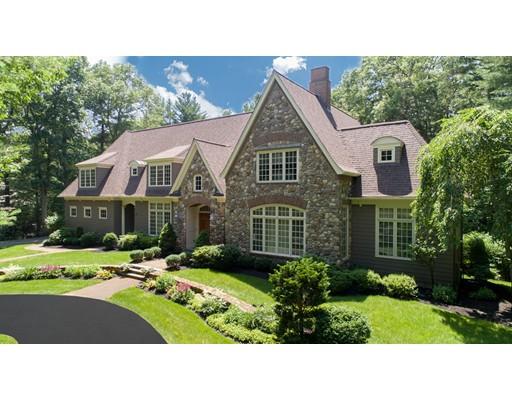 Частный односемейный дом для того Продажа на 63 Goodnow Road 63 Goodnow Road Sudbury, Массачусетс 01776 Соединенные Штаты