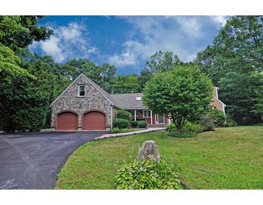 Частный односемейный дом для того Продажа на 38 Larcridge Lane 38 Larcridge Lane Ashland, Массачусетс 01721 Соединенные Штаты