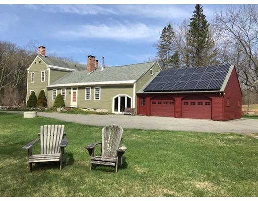 Частный односемейный дом для того Продажа на 468 Ashfield Road 468 Ashfield Road Conway, Массачусетс 01341 Соединенные Штаты