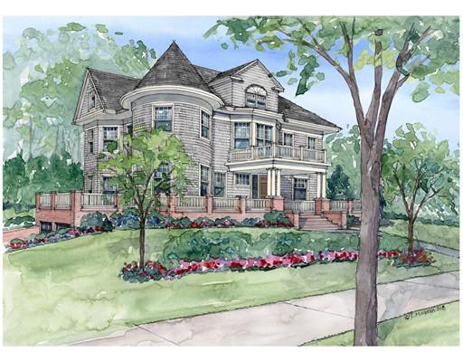 Single Family Home for Sale at 49 Fairfax Street 49 Fairfax Street Newton, Massachusetts 02465 United States