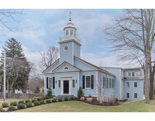 Maison unifamiliale pour l Vente à 386 Main Street 386 Main Street Hingham, Massachusetts 02043 États-Unis