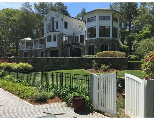 واحد منزل الأسرة للـ Sale في 45 Hilltop Road 45 Hilltop Road Weston, Massachusetts 02493 United States