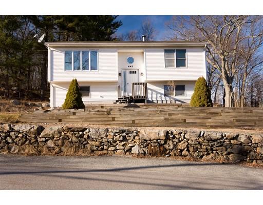 Частный односемейный дом для того Продажа на 445 Central Avenue 445 Central Avenue Johnston, Род-Айленд 02919 Соединенные Штаты