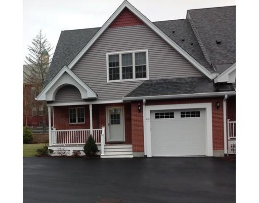 共管式独立产权公寓 为 销售 在 43 Dexter Road Foxboro, 02035 美国