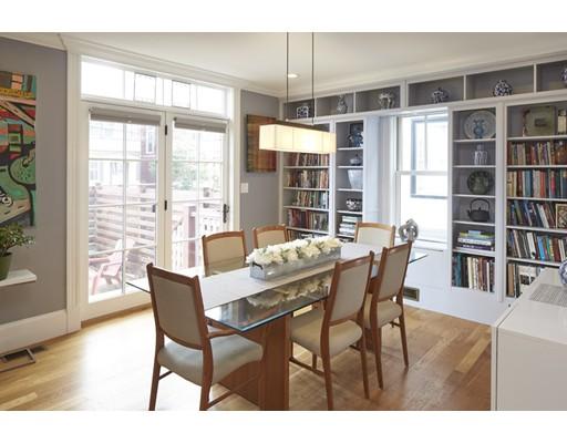 Частный односемейный дом для того Продажа на 43 Dover Street 43 Dover Street Cambridge, Массачусетс 02140 Соединенные Штаты
