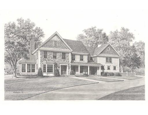 Maison unifamiliale pour l Vente à 80 Streetrawberry Hill Street 80 Streetrawberry Hill Street Dover, Massachusetts 02030 États-Unis