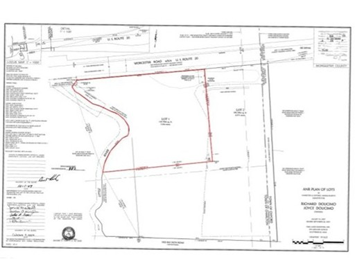 Land for Sale at 1 Worcester 1 Worcester Charlton, Massachusetts 01507 United States