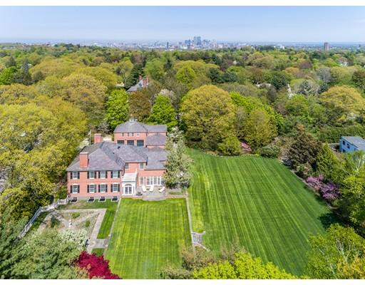 Частный односемейный дом для того Продажа на 60 Cramond Road 60 Cramond Road Brookline, Массачусетс 02467 Соединенные Штаты