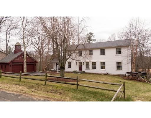 واحد منزل الأسرة للـ Sale في 491 Town Farm Road 491 Town Farm Road Warren, Massachusetts 01083 United States