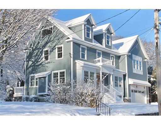 Single Family Home for Sale at 62 Kensington Park 62 Kensington Park Arlington, Massachusetts 02476 United States