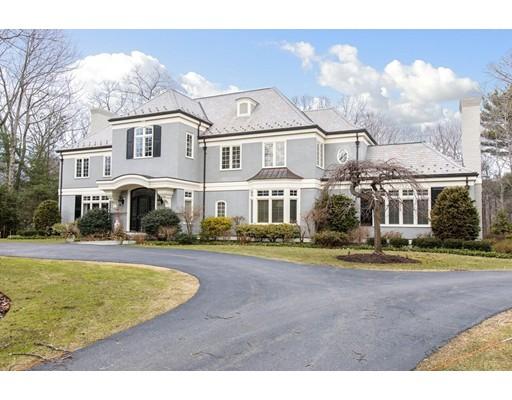 Casa Unifamiliar por un Venta en 11 Greylock Road 11 Greylock Road Wellesley, Massachusetts 02481 Estados Unidos
