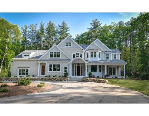 Maison unifamiliale pour l Vente à 29 Miller Hill Road 29 Miller Hill Road Dover, Massachusetts 02030 États-Unis