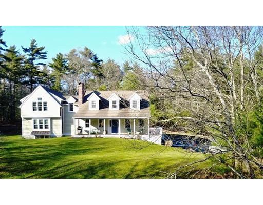 Maison unifamiliale pour l Vente à 296 Mayflower Street 296 Mayflower Street Duxbury, Massachusetts 02332 États-Unis