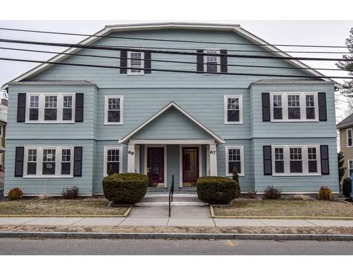 多户住宅 为 销售 在 67 Palfrey 67 Palfrey 沃特敦, 马萨诸塞州 02472 美国