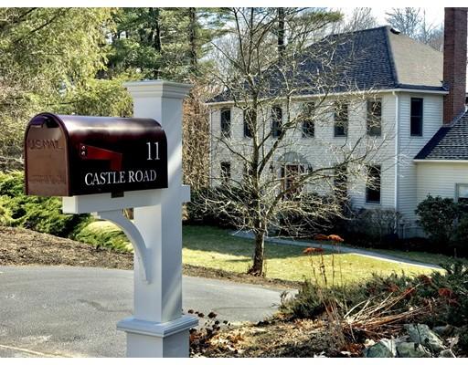 Casa Unifamiliar por un Venta en 11 Castle Road Norfolk, Massachusetts 02056 Estados Unidos