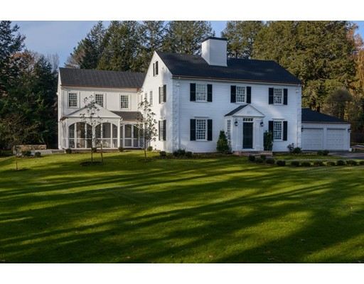 Picture 1 of 126 Woodlawn Ave  Wellesley Ma  6 Bedroom Single Family#