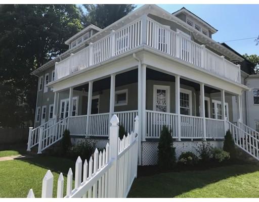多户住宅 为 销售 在 4 Pearl-Peabody Street 牛顿, 马萨诸塞州 02458 美国
