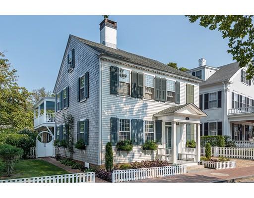 Частный односемейный дом для того Продажа на 74 N Water Street 74 N Water Street Edgartown, Массачусетс 02539 Соединенные Штаты