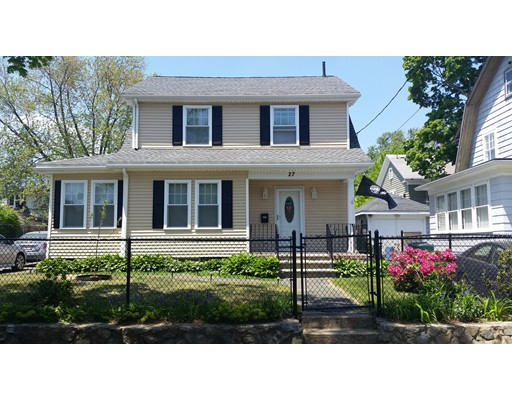 Single Family Home for Sale at 27 Brookline Street 27 Brookline Street Lynn, Massachusetts 01902 United States